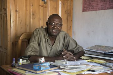 Paul Orwadho, Headmaster of the Konditi Primary School