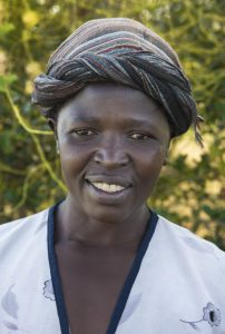 Women's case worker, Angeline Omondi
