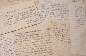 Students in the 7th Grade at Konditi Primary School wrote assays on how the Luci lights had made a difference in their lives.